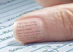 cheating en el examen