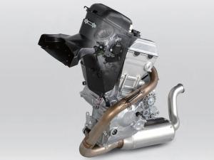 Un monocilíndrico de Honda