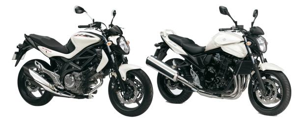 Suzukis Gladius SFV650 y Suzuki Bandit GSF650, las protas de esta comparativa de Motosparaela2