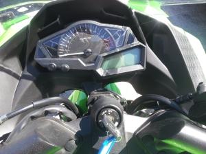 Tacómetro ninja 300