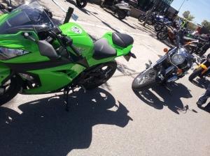 VN900 y Ninja300
