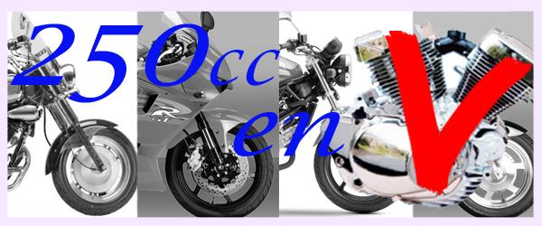 Motos de 250cc V twin Para el carnet A2