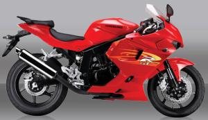 La llamativa deportiva de 250, más radical que la cbr250 y que la antigua ninja 250 es una solución para fardar.
