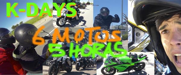 De 10:00 a 15:00 moto tras moto.