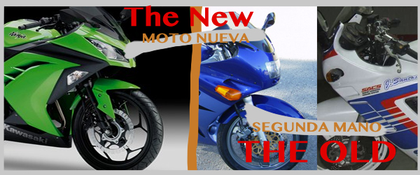 Moto nueva o segunda mano