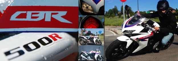 Prueba de Honda CBR 500 R