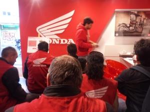 Hiperinteresante sesión sobre la gama 35kw de Honda para el A2