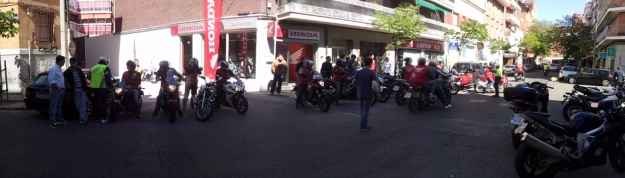 Honda Days salida