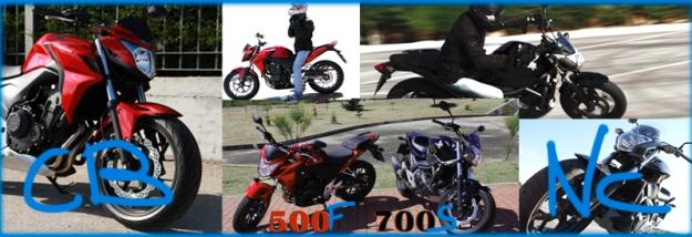 Comparativa Honda NC 700 S vs CB 500 F Portada