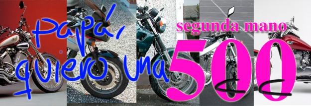 Motos de 500 cc segunda mano