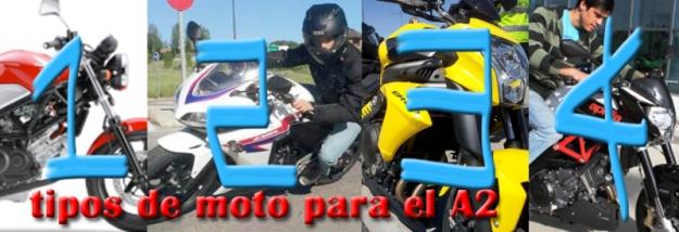 tipos de moto para el A2