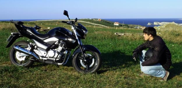 Entonces te das cuenta... es una moto preciosa
