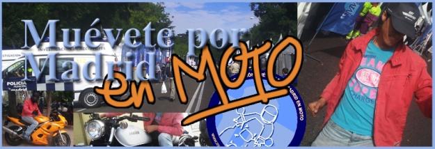 Muévete por madrid en Moto