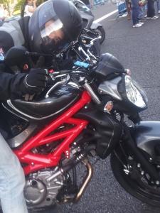 Se lleva mi like esta moto
