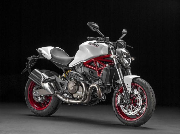 Ducati Monster 821 Blanca