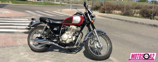 Moto Mash 500 Prueba carnet A2