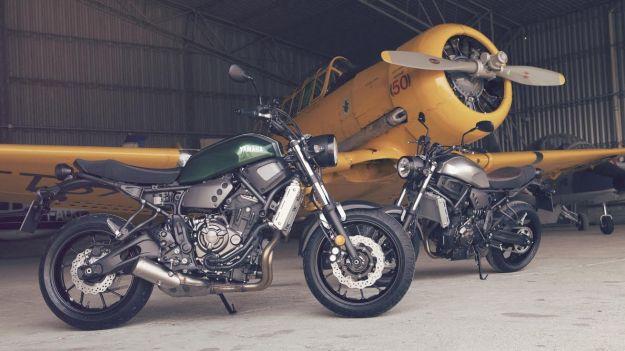 MT-07 no, XSR700, una moto clásica y tecnológica.