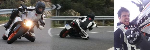 portada prueba KTM 390 RC