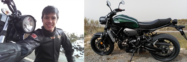 prueba Yamaha XSR700 A2