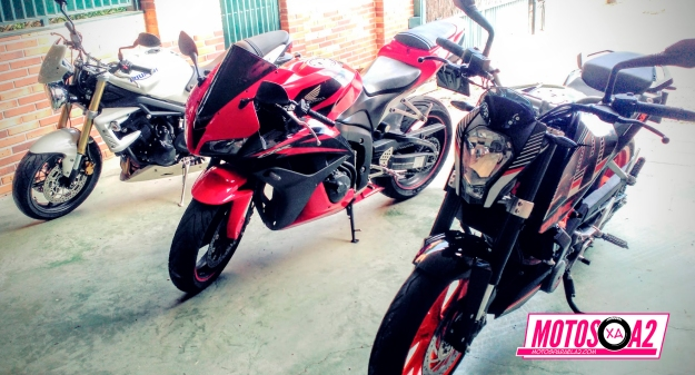 Mi becerra con las motos A2eras de dos grandes amigos moteros