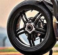 llanta bonita de moto